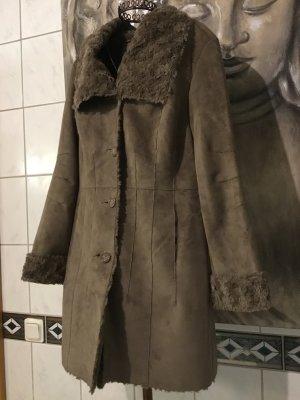 Peter Hahn Short Coat green grey