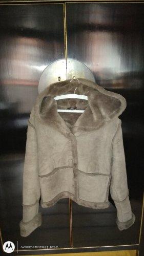 Apart Veste à capuche gris brun