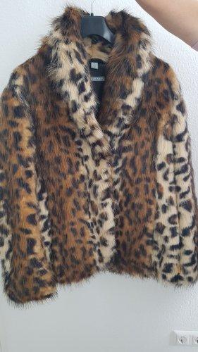 Webpelzjacke Leopard neu