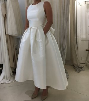 Wedding Dress multicolored silk