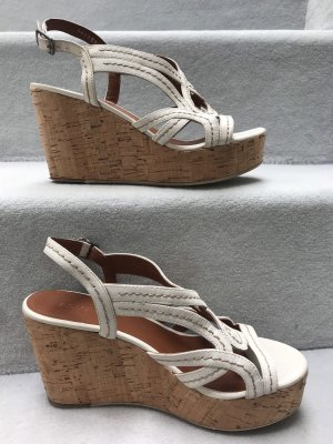 Wede Sandale /Keilabsatz /Leder BRUNO PREMI/Gr:38