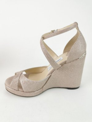 Wedge-Sandalen von Jimmy Choo