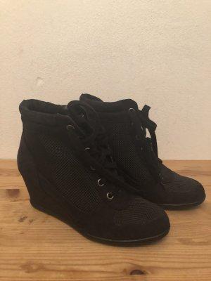 H&M Sneaker con zeppa nero