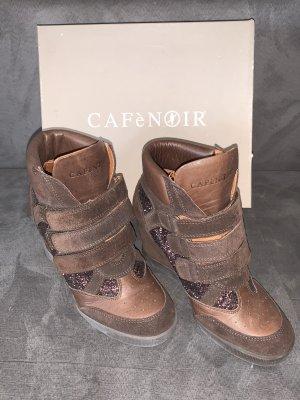 Cafènoir Wedge Sneaker dark brown-brown