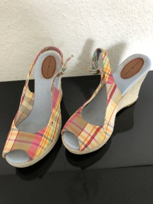 Tommy Hilfiger Wedge Sandals multicolored mixture fibre