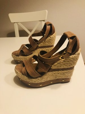 River Island Beach Sandals brown
