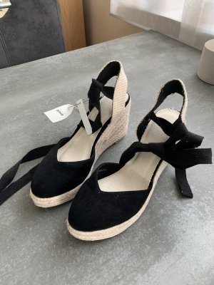 collection pimkie Wedge Sandals cream-black