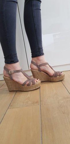 Wedges-Sandalette