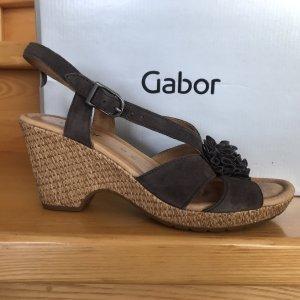 Wedges-Sandalette GABOR Comfort Gr.40 Top-Zustand