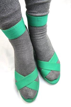H&M Divided Wedge Sandals multicolored mixture fibre