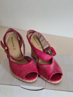 Tamaris Wedge Sandals pink