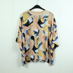Weekday Oversized Blouse multicolored polyester