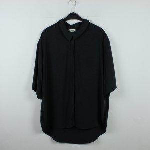 WEEKDAY Bluse Gr. M dunkelgrau oversized (20/01/050)