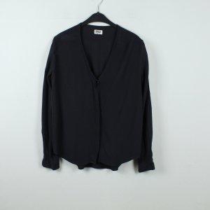 WEEKDAY Bluse Gr. S schwarz dunkelblau (20/01/189)