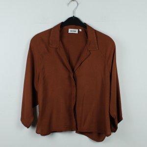 WEEKDAY Bluse Gr. XS braun oversized (20/01/040)