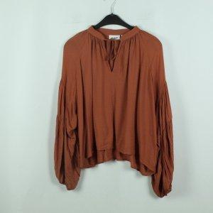 Weekday Bluse Gr. XS braun oversized (20/06/080*)