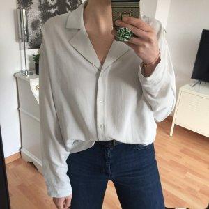 Weekday Bluse Hemd mint mintgrün blass grün XS
