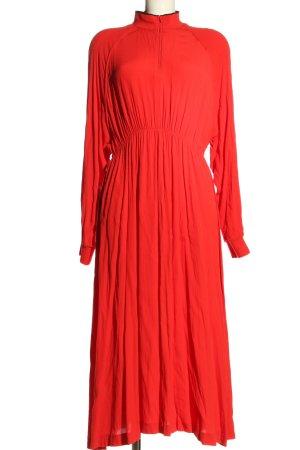 Weekday Blusenkleid rot Elegant