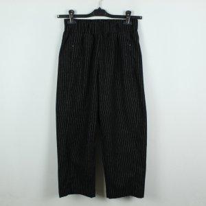 Weekday Pantalone culotte nero-bianco