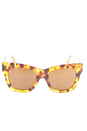 Weekday Gafas de sol cuadradas estampado de animales look casual