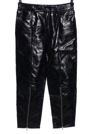 Weekday High-Waist Hose schwarz Elegant