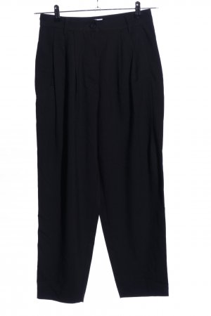 Weekday High-Waist Hose schwarz Business-Look