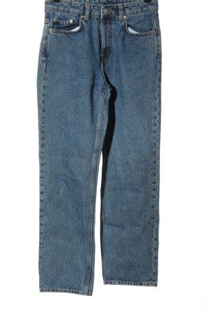 Weekday High Waist Jeans blau Casual-Look
