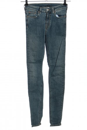 Weekday High Waist Jeans blau Casual-Look