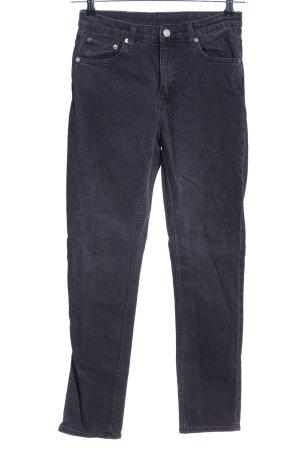 Weekday High Waist Jeans schwarz Casual-Look