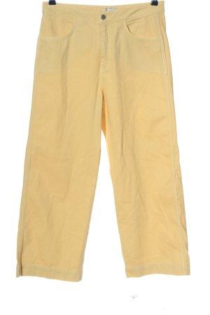 Weekday 7/8 Jeans blassgelb Casual-Look