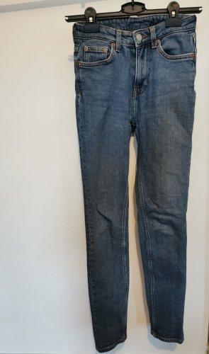 Weekday Jeans blau