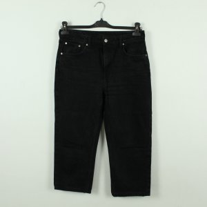 Weekday Jeans a 7/8 nero Cotone