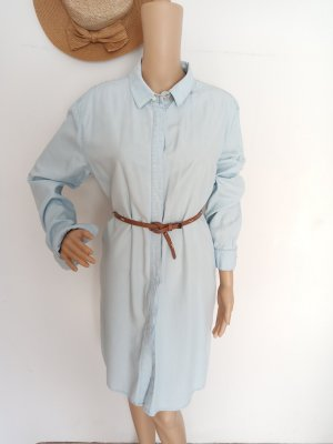 Weekday Denim Dress light blue-azure