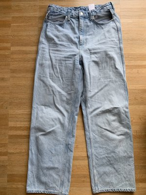 Weekday Jeans Lasso Cut Out W31 hellblau