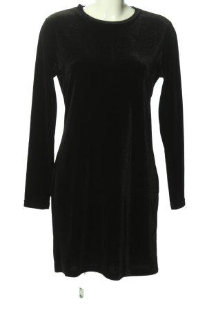 Weekday Langarmkleid schwarz Elegant