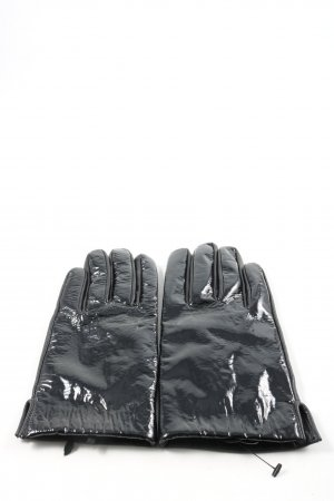 Weekday Leather Gloves black casual look
