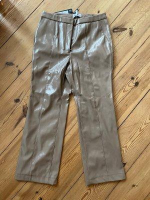 Weekday Pantalone in pelle multicolore