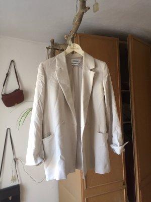 Weekday Blazer stile Boyfriend bianco sporco-bianco