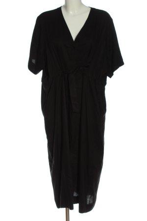 Weekday Maxikleid schwarz Elegant