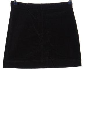 Weekday Mini rok zwart casual uitstraling
