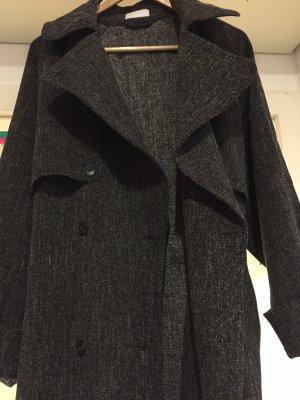 Weekday oversized Mantel dunkelgraumeliert XS, ungetragen