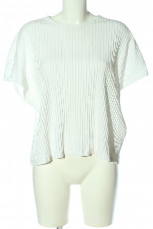 Weekday Camicia oversize bianco stile casual