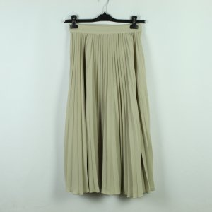 WEEKDAY Plisseerock Gr. 36 beige High Waist (20/11/063*)