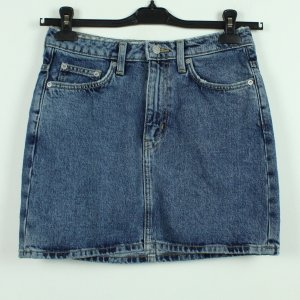Weekday Gonna di jeans blu Cotone