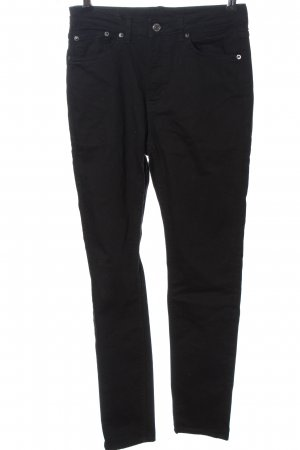 Weekday Jeans a sigaretta nero stile casual