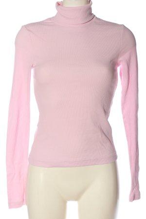 Weekday Rollkragenshirt pink Casual-Look