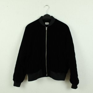 Weekday Bomber Jacket black polyester