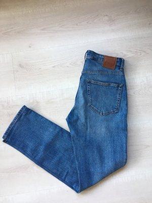 MTWTFSSWEEKDAY Jeans a gamba dritta blu-azzurro