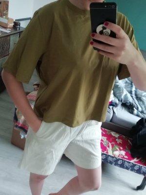 Weekday Shirt Crop Cropped Kastig Loose fit