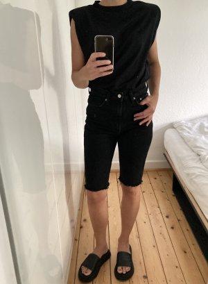 Weekday Pantaloncino di jeans multicolore Cotone
